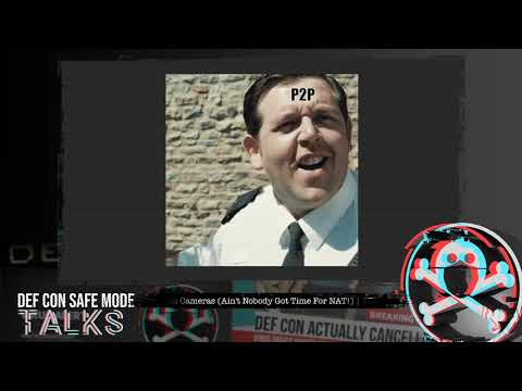 DEF CON Safe Mode - Paul Marrapese - Abusing P2P to Hack 3 Million Cameras
