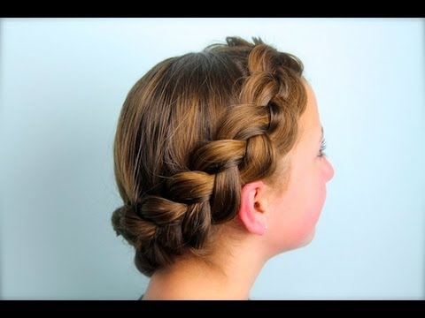 Wrap Around Dutch Pancake Braid Cute Girls Hairstyles