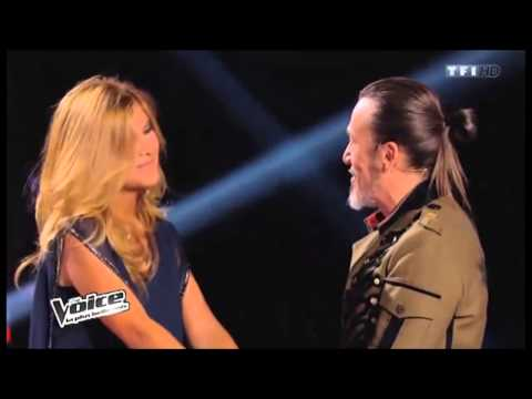 Aline Lahoud chooses Florent Pagny as Coach in The Voice France Season 3