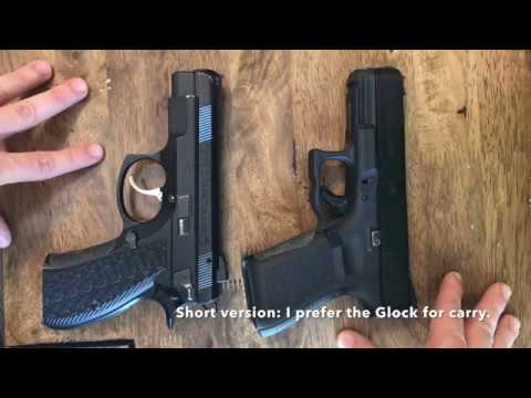 Glock 19 vs CZ 75D Compact PCR for Concealed Carry