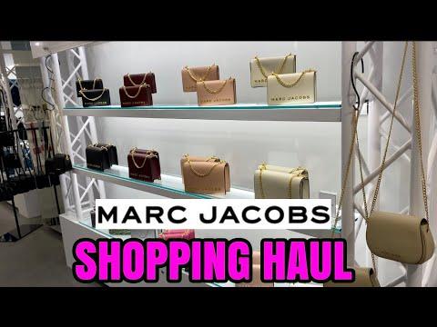 MARC JACOBS SHOPPING HAUL