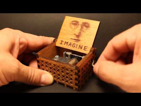 Imagine - john lennon Music Box (Invenio Crafts)