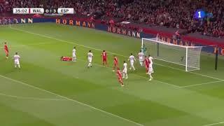 España vs Gales 4 -1 / Resumen Goles Amistoso Internacional 2018