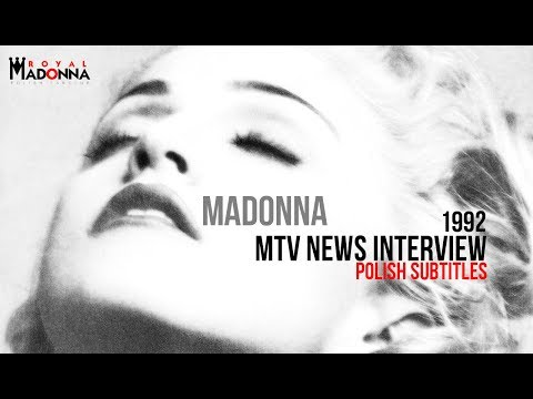 Madonna - MTV News Interview (1992) [Polish Subtitles]