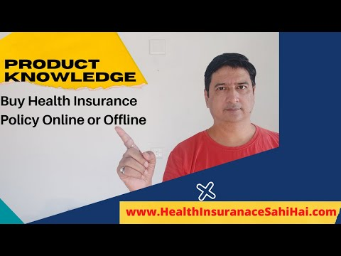Buy Health Insurance Policy Online Or From A Traditional Agent - Health Insurance Sahi Hai