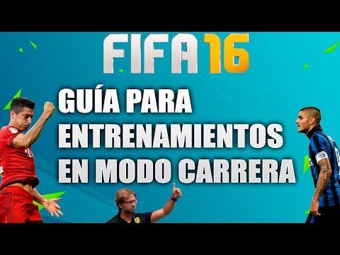 FIFA 16: Tutorial entrenamiento de jugadores