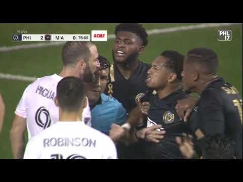 Gonzalo Higuain Misses Penalty in MLS Debut, Argument Ensues