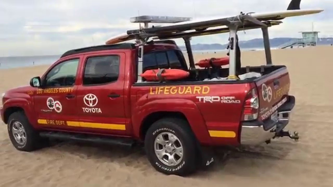 Toyota Of Huntington Beach >> LA Lifeguard Truck - YouTube