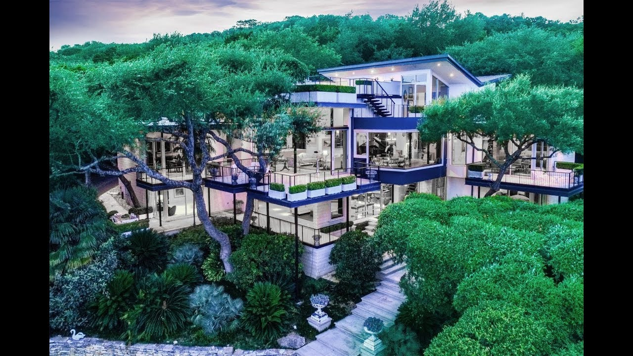 Westlake contemporary home in austin texas youtube for Modern homes in austin tx