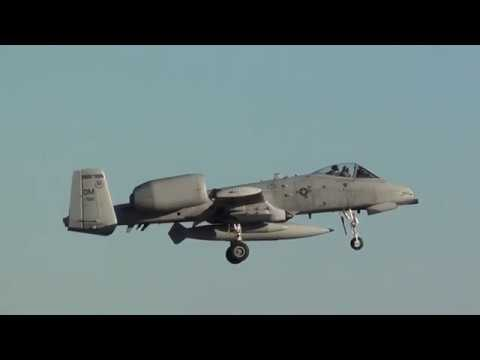 U.S Air Force Fairchild A-10C Thunderbolt II (81-0992) Landing Moron Air Base LEMO (DM)