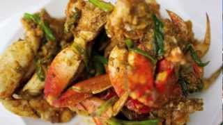 Lemongrass and Ginger Stir Fried Crab