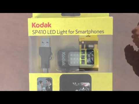 Kodak SP 410 LED Light for smartphones
