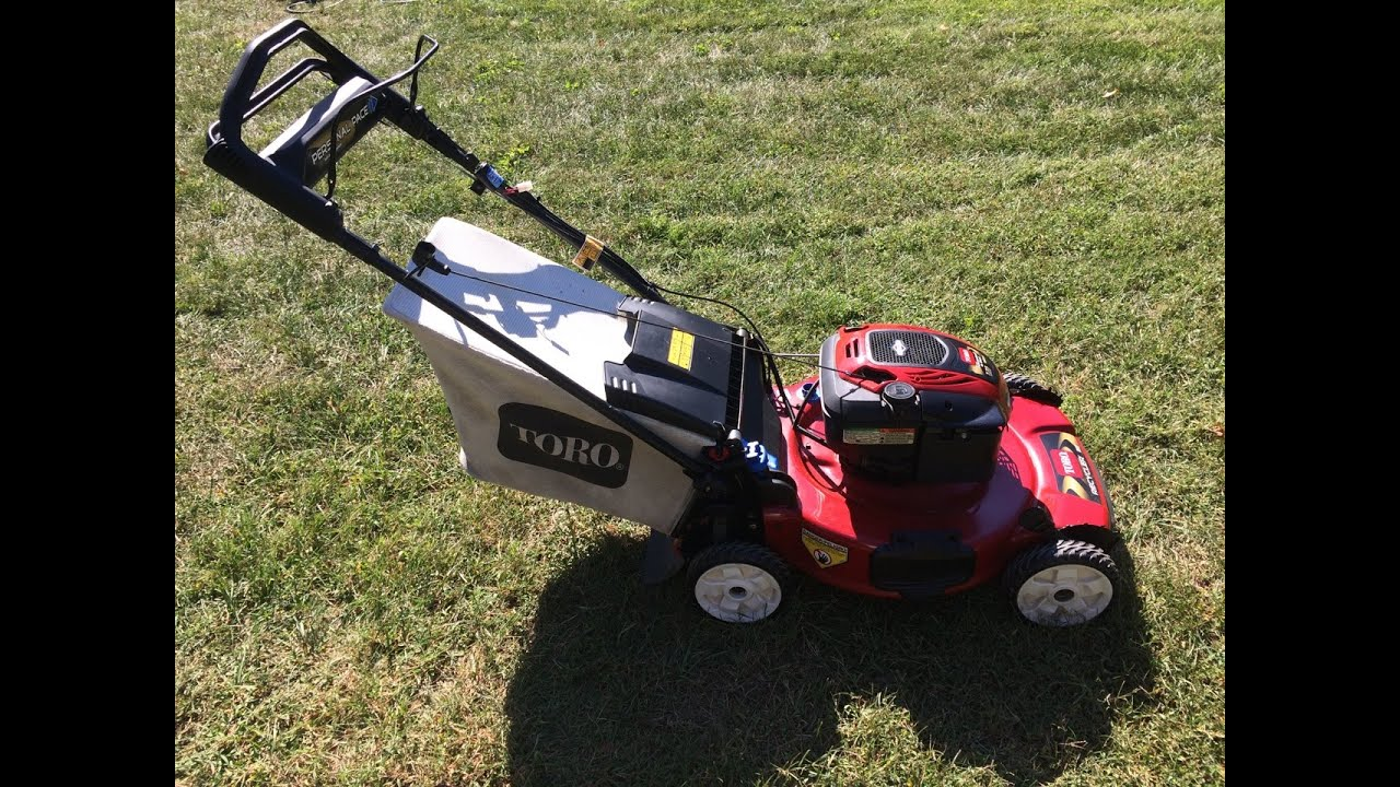 maxresdefault toro personal pace recycler lawn mower model 20334 it's electric  at webbmarketing.co