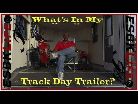 What's In My Track Day Trailer?
