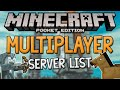 MULTIPLAYER SERVERS For Minecraft PE! - MCPE External IP Servers (Minecraft Pocket Edition)