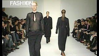 CALVIN KLEIN Fall 2002 2003 New York - Fashion Channel