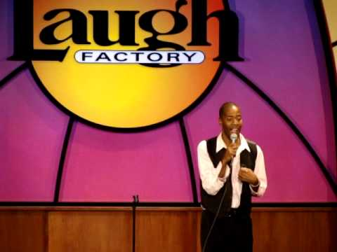 LIVE @ THE  LAUGH FACTORY ME ILL WILL
