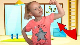 Утренняя зарядка и упражнения для детей - Физкультминутка