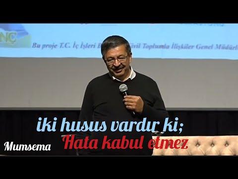 İki husus vardır ki, hata kabul etmez..!@hayatiinanç