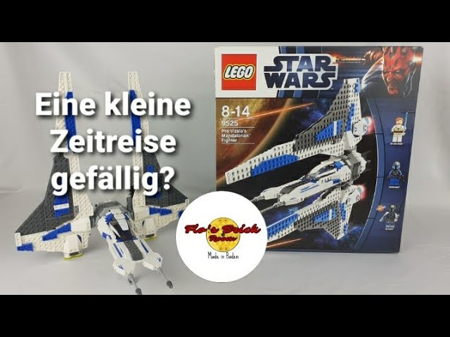 Kleine Zeitreise gefällig?| Review Lego Star Wars Pre Vizla's Mandalorian Fighter (Art.9525)
