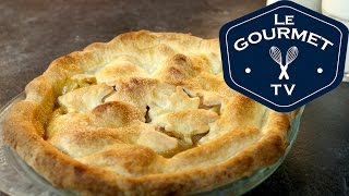 Pear Butterscotch Pie Recipe - Legourmettv