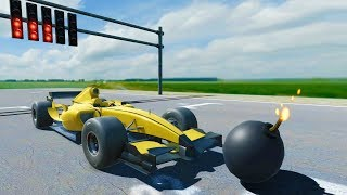 Bombing a Race Car - Disassembly 3D New Update Gameplay