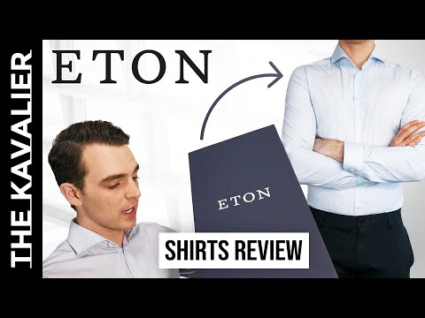 Eton Shirt Review & Fit Comparison - Super Slim, Slim, Contemporary, Classic