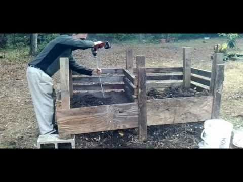Make this soil compost sifter screener for raised bed for Soil king compost