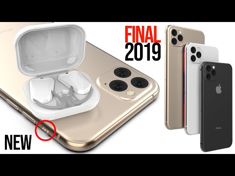 iPhone 11 FINAL Design Leaks & AirPods 3 in 2019!