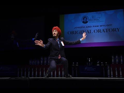 JJ Kapur - NSDA 2017 Original Oratory National Champion