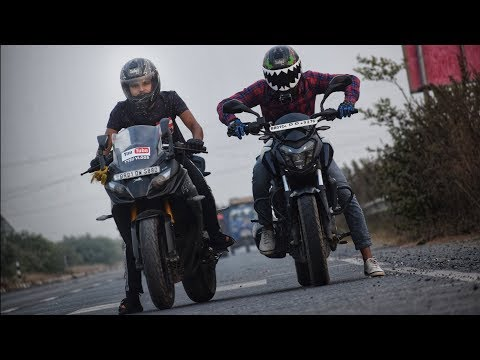 Apache RR 310 Vs Dominar 400 | Race | which one you should buy