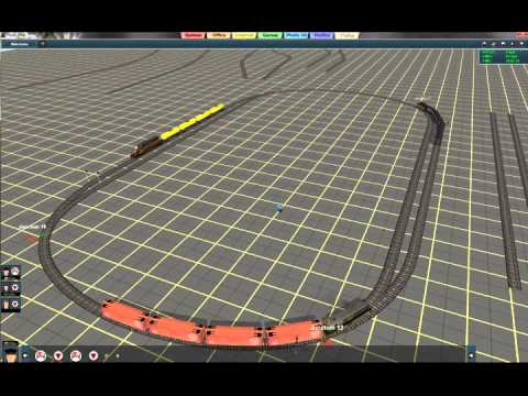 trainz tutorial 13 drive around with 3 trains on a schedule