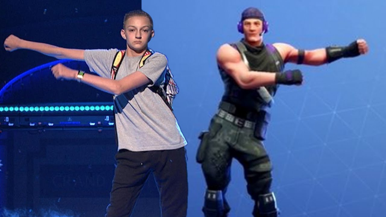 Backpack Kid SUING Fortnite For STEALING His Dance Moves!