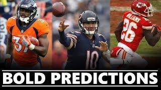 Fantasy Football BOLD Predictions 2019 [TIMESTAMPS]