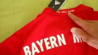 Bestcheapsoccer.com 16-17 Bayern Munchen home jersey - Review - Unboxing