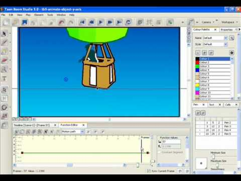 Toon Boom Animation - Animate object in vertical direction