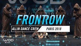 STEPHANE SEYA SABOTINOV & ALL IN DANCE CREW | World of Dance Paris Qualifier 2018 | FrontRow