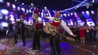 JUZI - Die jungen Zillertaler in der Silvestershow 2017 - alle Auftritte