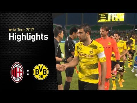 Highlights: AC Milan - Borussia Dortmund (1:3)