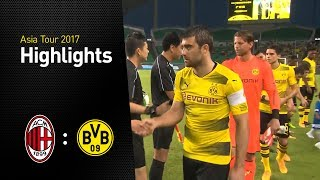 Highlights: AC Milan - Borussia Dortmund 1:3