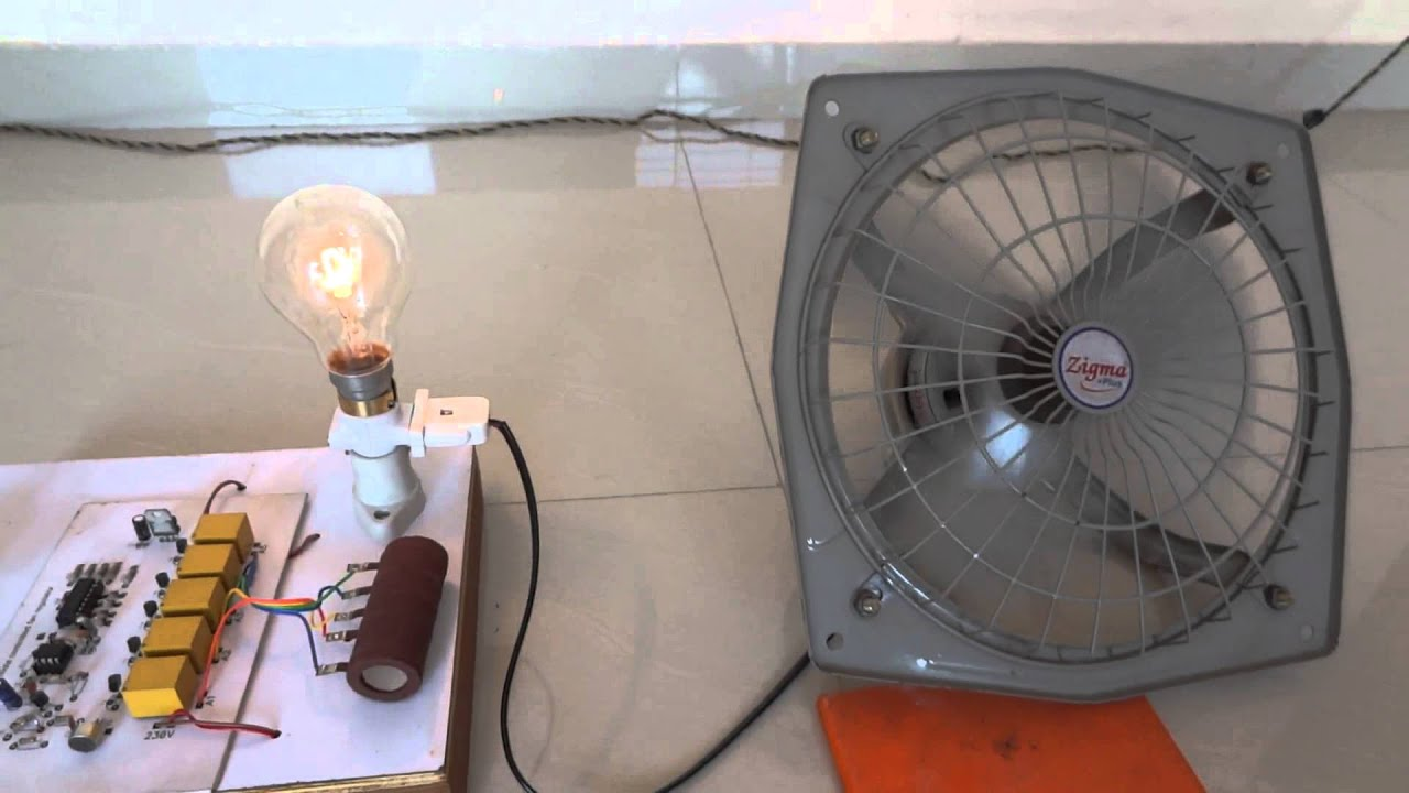 Fan Speed Control By Clap Youtube Remote Switch Wiring Diagram