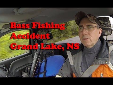 Bass Fishing Grand Lake Nova Scotia June 6, 2018