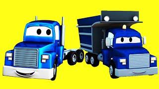 Трансформер Карл и его друзья Эвакуатор Том, Поезд, Самосвал | Мультик про машинки и грузовички