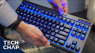 The Dream Wireless PC Gaming Setup - Corsair K63 & Dark Core Mouse | The Tech Chap