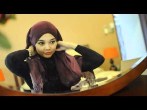 Tutorial  Pashmina Shawl Abiya Muslimah