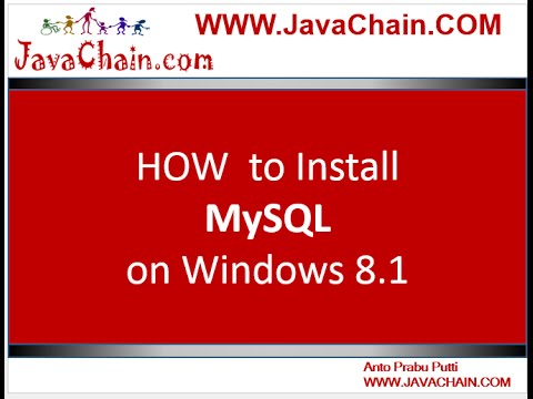 How to Install MySQL on Windows 8.1 OS