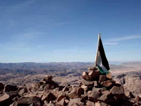 Climbing the tallest mountain in Jordan