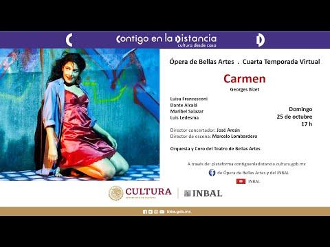 Carmen / Ópera de Bellas Artes / INBAL / México