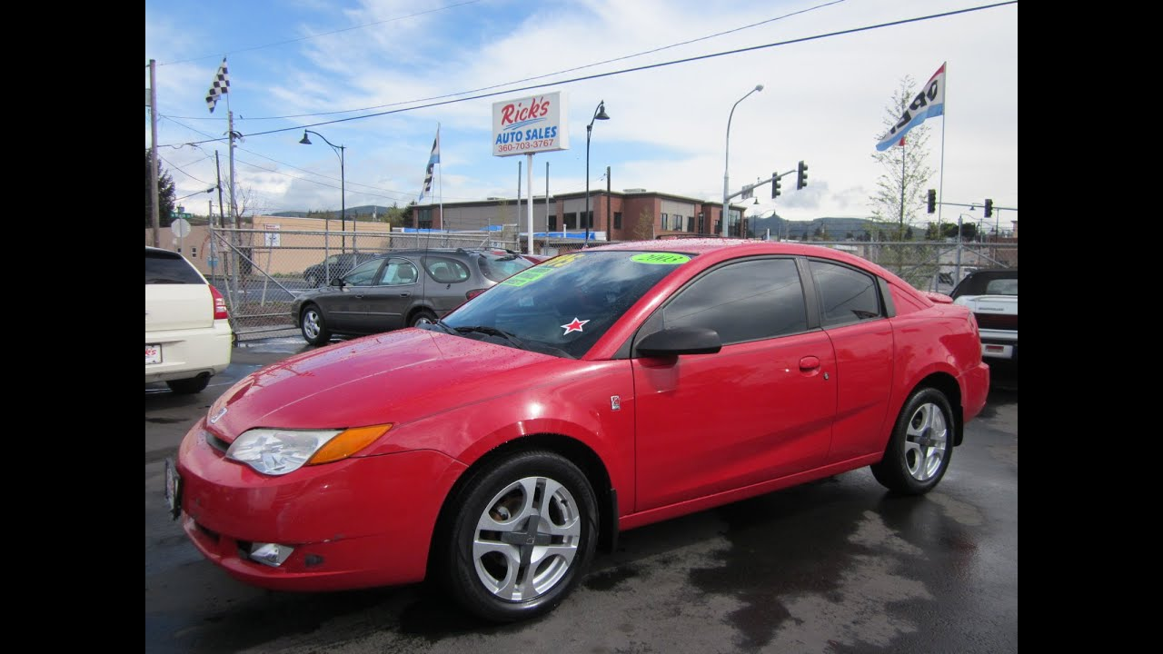 100 reviews 2003 saturn ion coupe on margojoyo 2003 saturn ion 3 quad coupe sold youtube vanachro Images