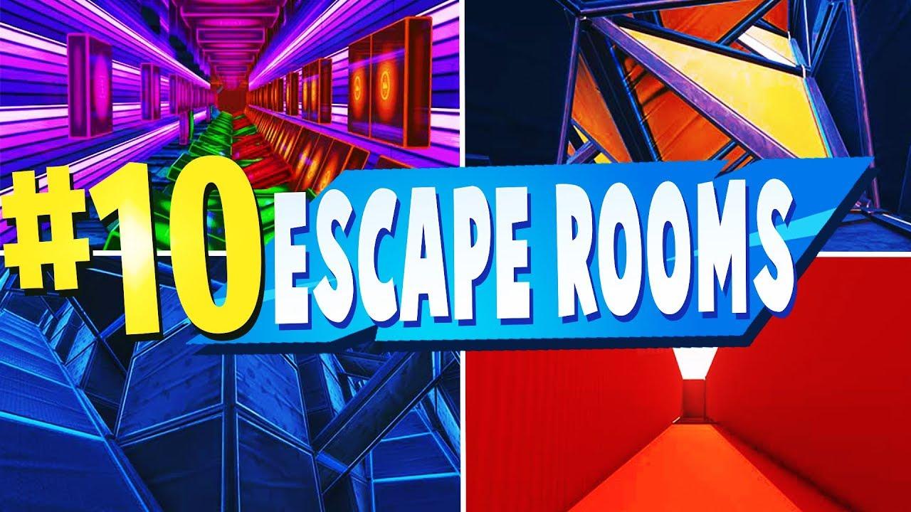 Top 10 Best Escape Room Maps In Fortnite Fortnite Escape